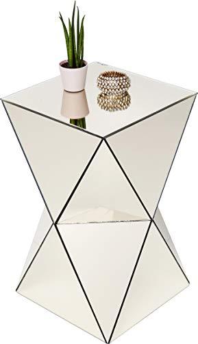 Kare Beistelltisch, Champagner, Ø43cm