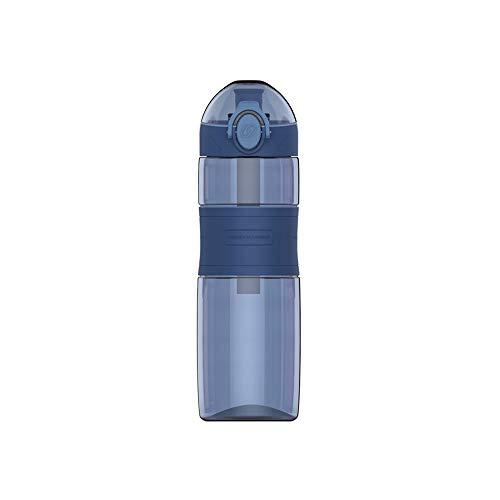 BXGZXYQ Warme Tasse Banefuta Federteller Student Sportschale Geschenkschale Outdoor-Sport-Wasserflasche (Farbe : Blau, Size : 600ml)