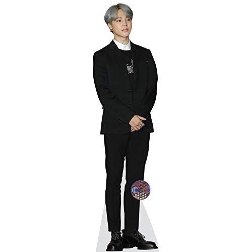 Celebrity Cutouts Jimin (BTS) Pappaufsteller lebensgross