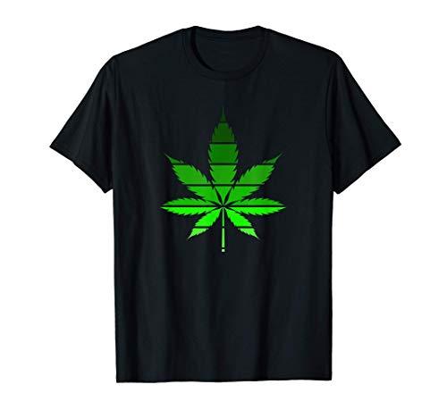 Marijuana Cannbis Weed Blatt 420 T-Shirt