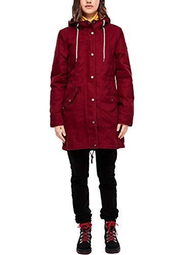 Q/S designed by - s.Oliver Damen 2-in-1 Longparka mit Futter red XXL