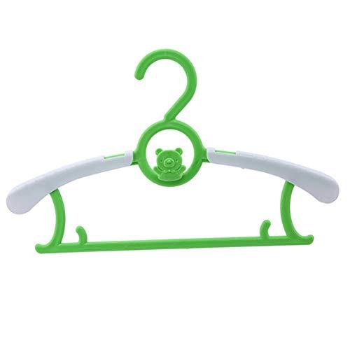 LANKOULI Kleider 5Pc / 10Pc Verstellbarer Kleiderbügelhalter Aus Kunststoff Handtuchhalter Für Baby Erwachsene Kinder Kinder Kleidung Wäscheständer Hängen