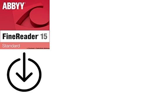ABBYY Finereader 15 Standard|1PC/WIN|Vollversion|Aktivierungscode per Post [Lizenz][KEINE CD][NO