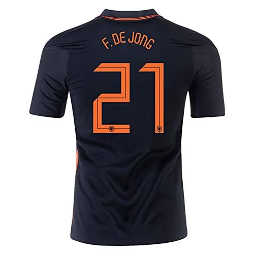 Backboards 2021 European Cup Jersey Suit,Netherlands No.10 Camiseta Segunda Equipación,Hombre Portero Camiseta...