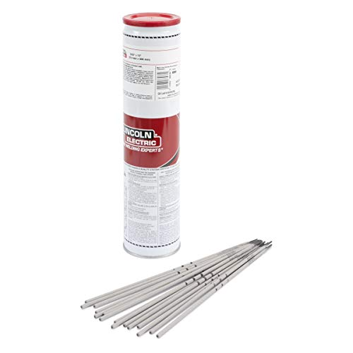 """1/8"""" E8018-C3 H4R Lincoln Electric Excalibur 8018-C3 MR Low Alloy Steel Electrode 10 Easy Open Can (Hermetically Sealed Container), Pack Quantity - 30"""
