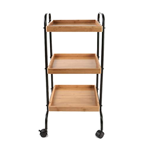 Shelf Kitchen Hotel Movable 3 Tier...