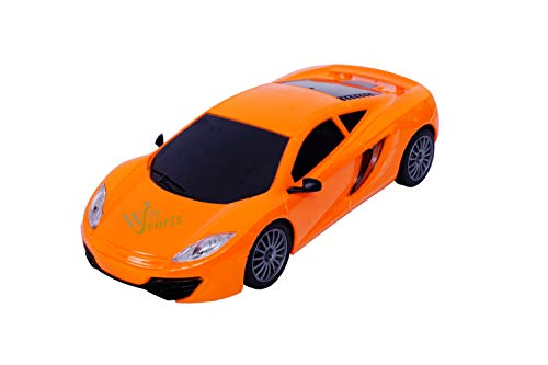 WireScorts Chargebal Racing Car for Kids with Remote Control, Pack of 1, Multicolor 6