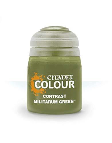 29-24 シタデルカラー CONTRAST: MILITARUM GREEN (18ML)
