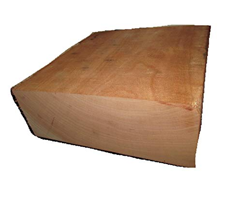New Quality Wood/KILN Dried Cherry Bowl Blank Lathe Turning Lumber 8 X 8 X 3' (uses Include Furniture, cabinets, Windows and Door Frames, Millwork, and molding)