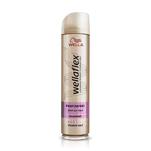 Wellaflex Haarspray Parfümfrei starker Halt, 6er Pack (6 x 250 ml)