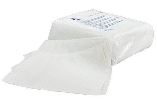 Gant de toilette à usage unique non tissé 75g soudé 155 x 210 mm/paquet de 50