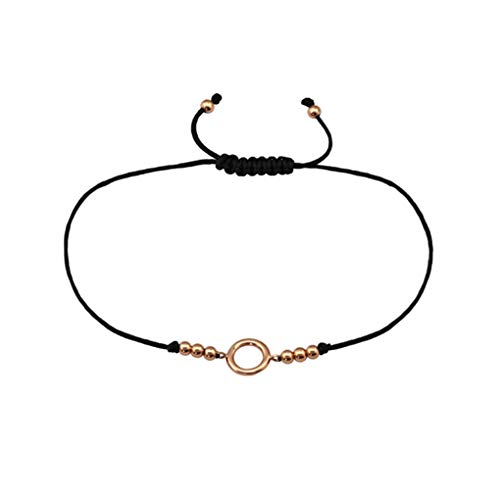 Liara nylon cordon./Poli et sans nickel flocon de neige avec fil Bracelets argent 925