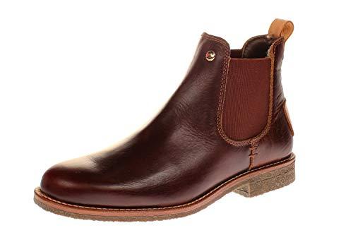 Panama Jack Damen Giordana Igloo Trav Chelsea-Stiefel, Bark B002, 42 EU