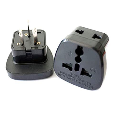 3 pin Chinese Power Plug Adapter Travel Converter Australia Zealeand UK USA EU