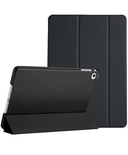 ProHülle iPad Air 2 Ultra Dünn Smart Hülle, Leichte Stand Schutzhülle Shell mit Translucent Frosted Rückhülle für Apple iPad Air 2 (A1566 A1567) –Schwarz