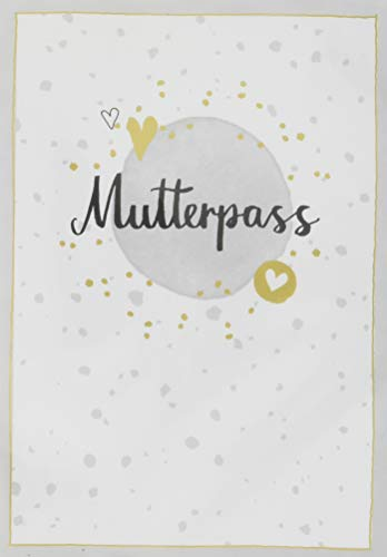 Mutterpasshülle - Mutterpass (grau) (Alben & Geschenke fürs Baby)