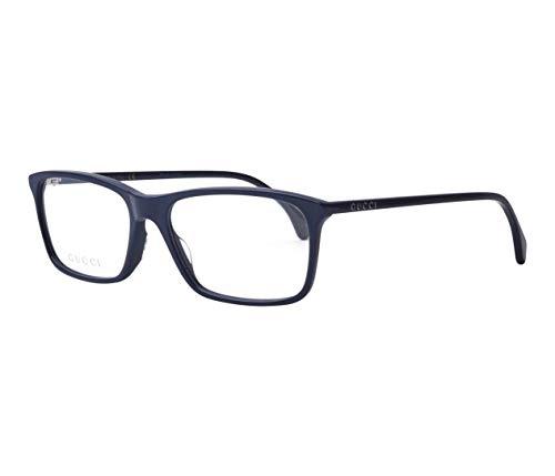 Gucci GG0553O-003-54 Brillengestell, Blau Dunkel, 54.0 Unisex Adulto