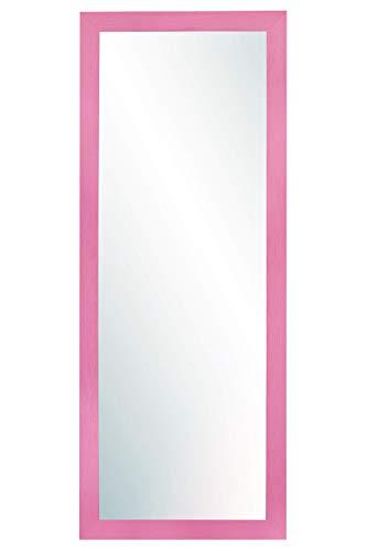 Chely Intermarket, Espejo de Pared Cuerpo Entero 35x100cm(42,50x107,50 cm) Rosa/Mod-146, Ideal para peluquerías, Comedor, Dormitorio y oficinas. Fabricado en España. Material Madera.(146-35x100-4,15)