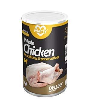 3x Lata Monoproteico 100% Trozos de Carne Pollo Entero