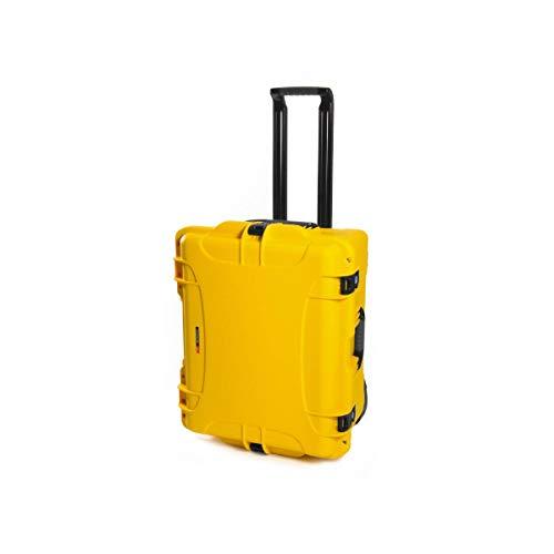 Nanuk 960 Waterproof Hard Case with Wheels and Foam Insert - Yellow