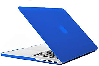 Miss flora MAC accessories .Laptop Frosted Hard Plastic Protection Case for Macbook Pro Retina 13.3 inch (Color : Blue)