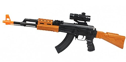 A&N Super Army Force AK47 7744 ELETRIC Toy Gun with Sounds and Lights