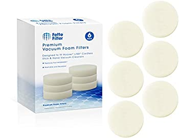 Fette Filter - Vacuum Foam Filter Compatible with Hoover LiNX Cordless Stick and Hand Vacuums Compare to Part # 410044001  6-Pack