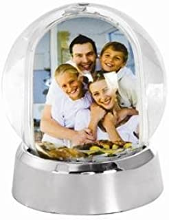 Neil Enterprises, Inc Mini Photo Snow Globe with Silver Base - Case of 36
