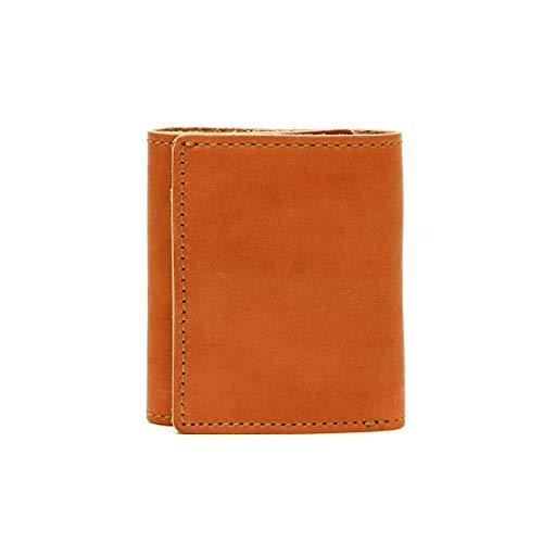 [スロウ]SLOW ボーノ bono mini wallet 三つ折り財布 別注 333S38D キャメル/24