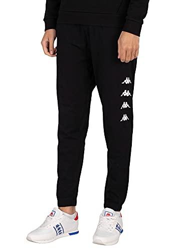 Kappa KOLRIK Joggings & Pantaloni da Tuta Hommes Black/White - M - Pantaloni da Tuta