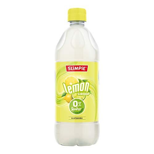 Slimpie Limonadensirup Zitrone, zuckerfrei 6 PET-Flaschen x 58 cl
