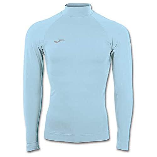 Joma Brama Classic Camiseta Termica, Hombre, Celeste, S-M