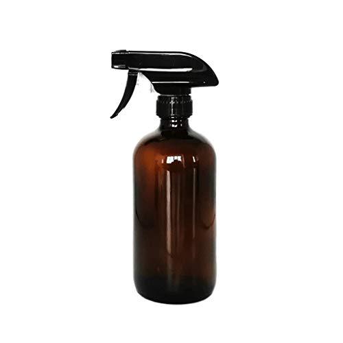 Bernstein Glas Sprühflasche - große 16 Oz nachfüllbaren Behälter sind for ätherische Öle, Reinigungsprodukte, hausgemachte Reiniger, Aromatherapie, Bio-Beauty-Behandlungen oder Kochen in der Küche - D