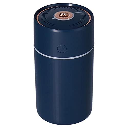 SALUTUY Filtro purificatore d'Aria, purificatore d'Aria Portatile umidificatore d'Aria USB purificatore d'Aria per Auto di Famiglia per Ufficio per Camera da Letto(Blu)