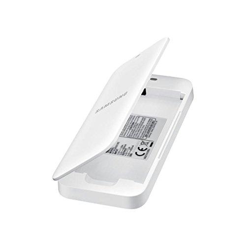 Samsung EB-KG850BWEGWW Extra Battery Kit per Galaxy Alpha, Bianco