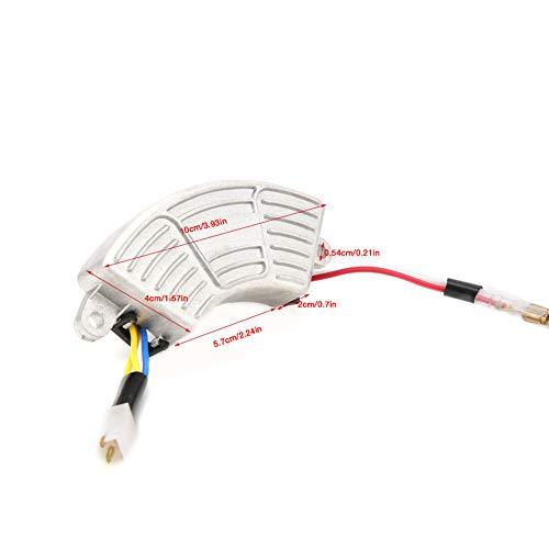 Regulador de voltaje generador de voltaje AVR, estabilizador de voltaje, regulador de voltaje para acelerador monofásico de 3,5 kW hasta 5 kW