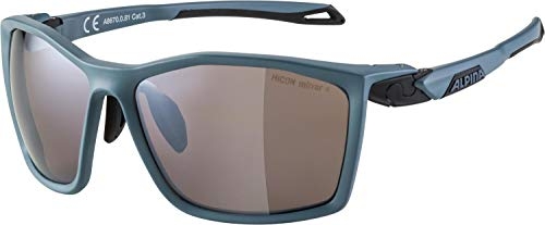 ALPINA, TWIST FIVE HM+ occhiali sportivi, dirtblue matt, one size, Unisex-Adult, Blu