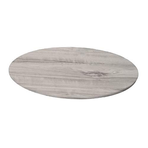 FLAMEER Tisch Beug rund 140cm Gartentischdecke Tischtuch Tafeldecke Tischwäsche Tisch Abdeckung Stretchhussen Stretchbezug - V