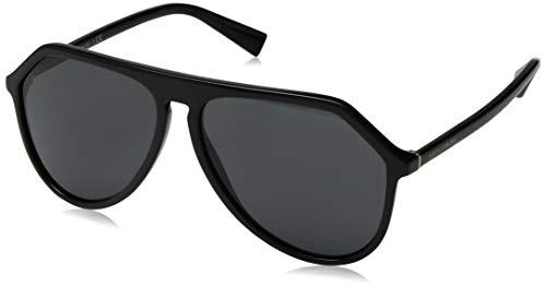 Dolce Gabbana DG4341 Black/Black Lens Sunglasses