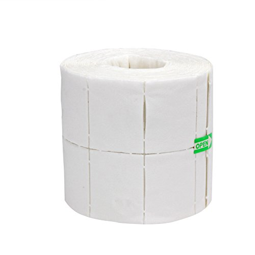 Lingette à ongles en coton tampons pour manucure et dissolvant