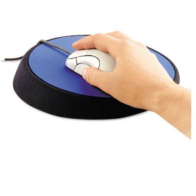Wrist Aid Ergonomic Circular Mouse Pad, 9' Dia, Cobalt, Sold as 2 Each