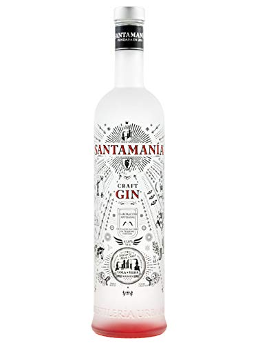 SANTAMANIA CRAFT GIN 41% 70cl.