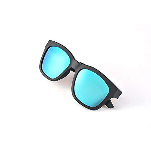 EREW Gafas de sol de audio Bluetooth inalámbricas, auriculares abiertos, música y llamadas manos libres, para hombres y mujeres, lentes de protección UV