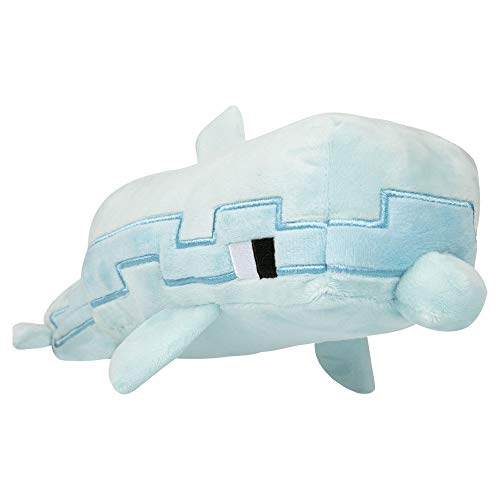 J!NX Minecraft Adventure Plush Figure Dolphin 35 cm sche