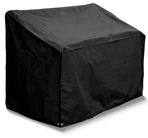 Bosmere Housse pour Banc - 3 sièges - Qualité Premium - Noir