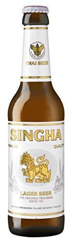 Singha - Thai Bier - Preis inkl. Pfand - 6er Pack (6 x 330ml)