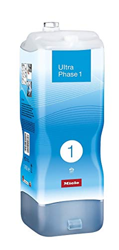 Miele UltraPhase 1, Detersivo TwinDos, Capi Bianchi e Colorati, 1.4 lt, 37 Lavaggi