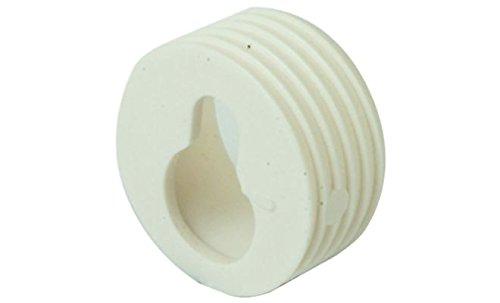 Häfele Schrankaufhänger weiß aus Kunststoff 20 mm 4 Stück/VPE.