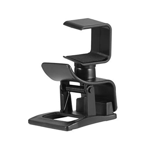Diseño de rotación Profesional Soporte de Montaje de Clip de TV Ajustable Soporte de cámara Soporte de Soporte para Accesorio de Montaje de cámara Ps4 (Negro)
