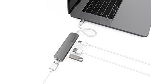 Verbatim USB-C Hub mit HDMI-Schnittstelle - bis 5 Gbps, Multiport-Adapter für Laptop und MacBook, grau, 49540